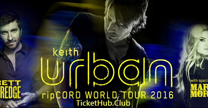 Keith Urban Tickets